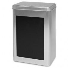 Silverburk med skrivyta - Rektangulär