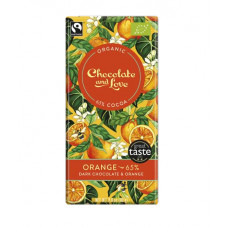 Chocolate and Love - Orange
