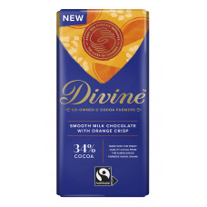 Divine Smooth Milk with Orange Crisp