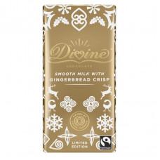 Divine Milk Chocolate Gingerbread Crisp