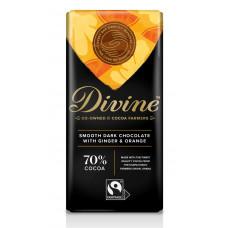 Divine Smooth Dark Ginger & Orange