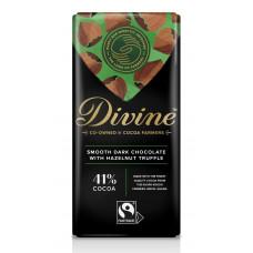 Divine Smooth Dark Hazelnut Truffle