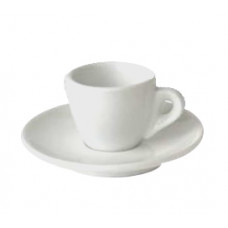 Espressokopp Vit