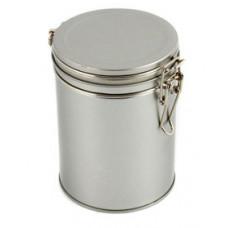 Silverburk med knäpplock