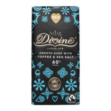 Divine Dark Chocolate Toffee & Sea Salt
