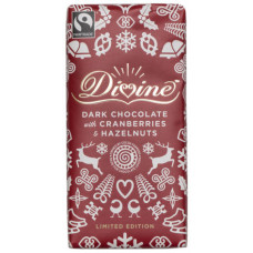Divine Dark Chocolate Cranberries Hazelnuts