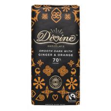 Divine Dark Chocolate Ginger & Orange