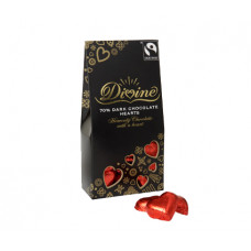 Divine Dark Chocolate Hearts