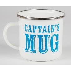 Emaljmugg - Captain´s Mug