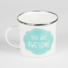 Emaljmugg - You are Awesome