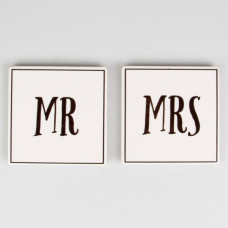 Underlägg Set Mr & Mrs